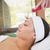 Peaceful brunette getting micro dermabrasion stock photo © wavebreak_media