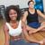 Coppia · meditazione · posa · fitness · studio - foto d'archivio © wavebreak_media