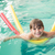 kicsi · fiú · úszómedence · portré · vicces · nevetés - stock fotó © wavebreak_media