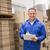 warehouse worker checking his list on clipboard stock photo © wavebreak_media
