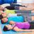 grupo · de · personas · meditando · yoga · estudio · fitness - foto stock © wavebreak_media