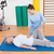 therapist working with senior woman on exercise mat stock photo © wavebreak_media