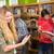 főiskola · diákok · könyvtár · csoport · nő · lány - stock fotó © wavebreak_media