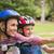 moeder · dochter · fiets · meisje · voorjaar - stockfoto © wavebreak_media