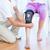 orvos · megvizsgál · láb · beteg · közelkép · női - stock fotó © wavebreak_media