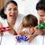famille · heureuse · jouer · jeux · vidéo · famille · musique · livre - photo stock © wavebreak_media
