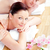 couple · Retour · massage · spa - photo stock © wavebreak_media