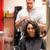 portré · férfi · haj · fésű · üzlet · nő - stock fotó © wavebreak_media