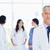 orvos · áll · előtér · csapat · egészség · háttér - stock fotó © wavebreak_media