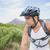 молодым · человеком · верховая · езда · велосипедов · улыбка · портрет - Сток-фото © wavebreak_media