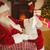 santa claus reading his list at christmas stock photo © wavebreak_media