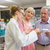 pharmacist and her customers talking about medication stock photo © wavebreak_media