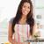 女性 · 野菜 · 立って · キッチン · 手 - ストックフォト © wavebreak_media