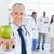 medizinischen · schauen · Arzt · halten · Apfel · Gesundheit - stock foto © wavebreak_media