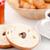 donut · gesneden · half · beker · koffie · witte - stockfoto © wavebreak_media