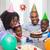 doğum · günü · pastası · atış · anne · kız · aile - stok fotoğraf © wavebreak_media