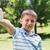 little boy showing his inhaler stock photo © wavebreak_media