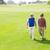 ゴルファー · 友達 · 徒歩 · ゴルフコース - ストックフォト © wavebreak_media