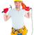 smiling handyman holding hammer and drill machine stock photo © wavebreak_media