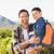 父から息子 · ハイキング · 子供 · 草 · 男 - ストックフォト © wavebreak_media