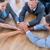 business people joining hands in a circle stock photo © wavebreak_media