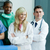 portré · orvosi · csapat · nő · orvos · boldog - stock fotó © wavebreak_media