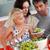 cheerful family preparing food together stock photo © wavebreak_media