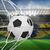 football at back of net stock photo © wavebreak_media