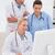 veterinário · datilografia · teclado · médico · escritório · mulher - foto stock © wavebreak_media