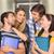 Öğrenciler · klasörler · kolej · koridor · portre - stok fotoğraf © wavebreak_media