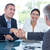 business partners shaking hands foto stock © wavebreak_media