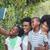 gelukkig · gezin · kleurrijk · geïsoleerd · witte · vrouw - stockfoto © wavebreak_media
