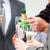 zakenman · champagne · kantoor · vrouw - stockfoto © wavebreak_media