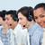 zakenlieden · hoofdtelefoon · call · center · computer · gelukkig - stockfoto © wavebreak_media
