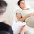 psicólogo · hablar · femenino · paciente · habitación · hombre - foto stock © wavebreak_media