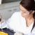 yoğunlaşmak · bilim · adamları · deney · laboratuvar · kadın - stok fotoğraf © wavebreak_media