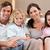 счастливая · семья · Смотря · телевизор · вместе · гостиной · семьи · домой - Сток-фото © wavebreak_media