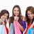 adolescentes · de · volta · compras · orgulho · feliz · beleza - foto stock © wavebreak_media