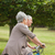 senior couple on cycle ride in countryside stock photo © wavebreak_media