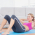slim blonde doing sit ups on exercise mat stock photo © wavebreak_media