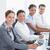 glimlachend · business · team · naar · business · kantoor - stockfoto © wavebreak_media