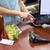 nő · pénztárgép · fizet · hitelkártya · áruház · üzlet - stock fotó © wavebreak_media