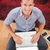 случайный · бизнесмен · смартфон · ноутбука · столе · служба - Сток-фото © wavebreak_media