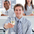 geslaagd · business · team · drinken · champagne · kantoor - stockfoto © wavebreak_media