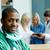 portré · sebész · csapat · mögött · orvos · boldog - stock fotó © wavebreak_media