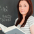 portrait · jeune · femme · résoudre · équation · classe · école - photo stock © wavebreak_media