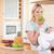 manzana · bebé · armas · alimentos - foto stock © wavebreak_media