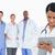 女性 · 医師 · メモを取る · クリップボード · スタッフ · 後ろ - ストックフォト © wavebreak_media