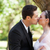 jeunes · mariage · couple · baiser · extérieur - photo stock © wavebreak_media