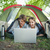 cute couple lying in their tent using laptop stock photo © wavebreak_media
